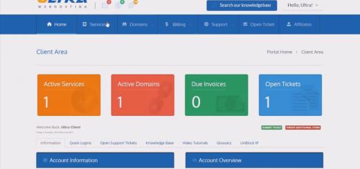 Client Portal Area