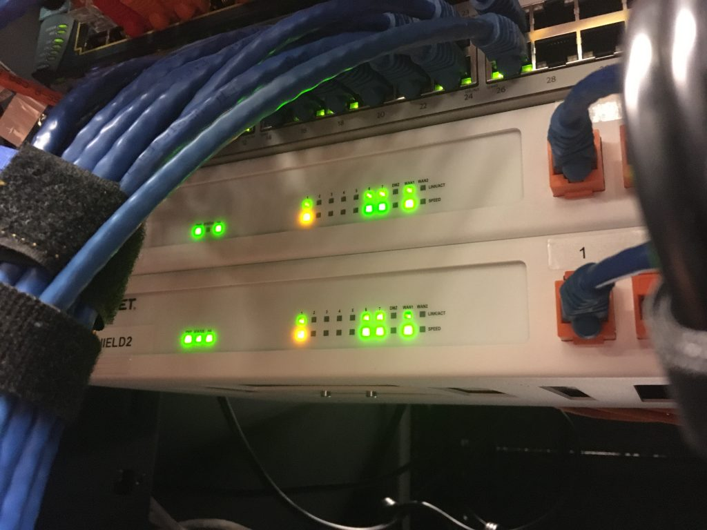 Hosting Hardware Firewalls
