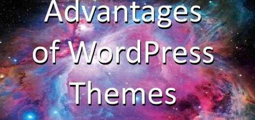 Advantages of WordPress Themes