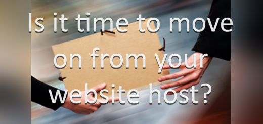 Is it time to move on from your website host?